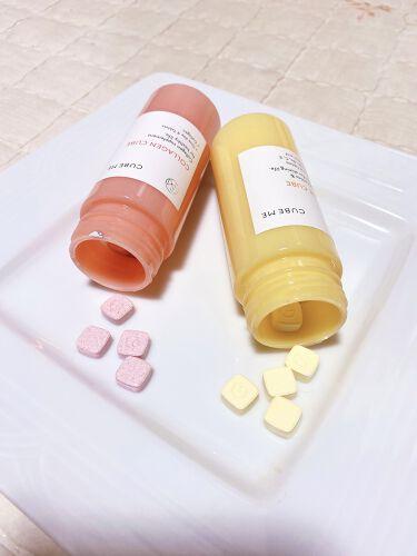 コラーゲン キューブ/cube me/美肌サプリメントを使ったクチコミ(4枚目)