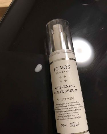 薬用 ホワイトニングクリアセラム/ETVOS/美容液を使ったクチコミ(2枚目)