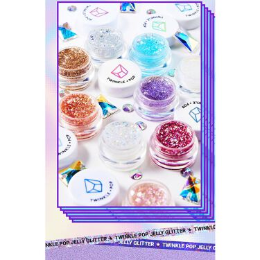twinkle pop  jelly Glitter