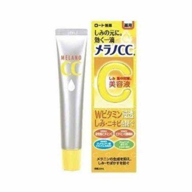 薬用 しみ 集中対策 美容液/メンソレータム メラノCC/美容液を使ったクチコミ(1枚目)