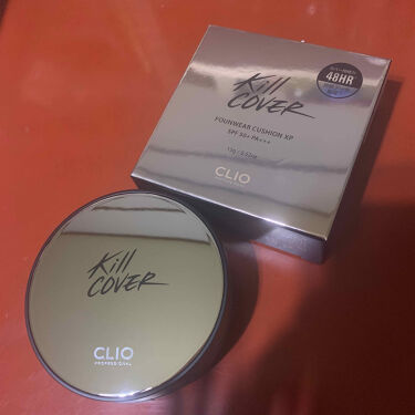 キル カバー ファンウェア クッション エックスピー/CLIO/クッションファンデーションを使ったクチコミ(1枚目)