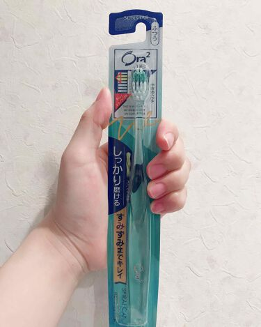 オーラツーミー ハブラシ スパイラルキャッチ/オーラツー/歯ブラシ・デンタルフロスを使ったクチコミ(1枚目)