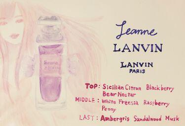 ジャンヌ・ランバン オードパルファム/LANVIN/香水(レディース)を使ったクチコミ(2枚目)