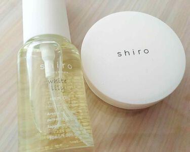 shiro (シロ) ヘアオイル ホワイトリリー