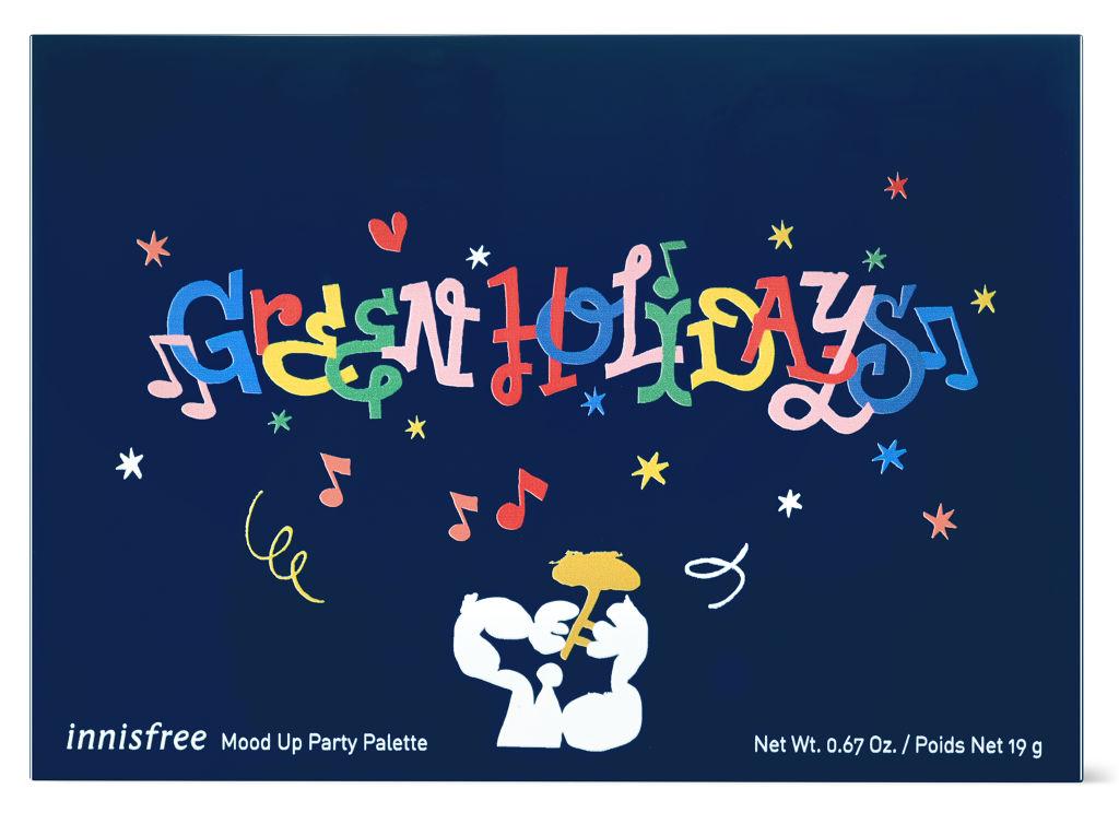 【イニスフリー】ホリデーシーズンにぴったり♪ムードアップパーティ パレットを5名様にプレゼント(1枚目)