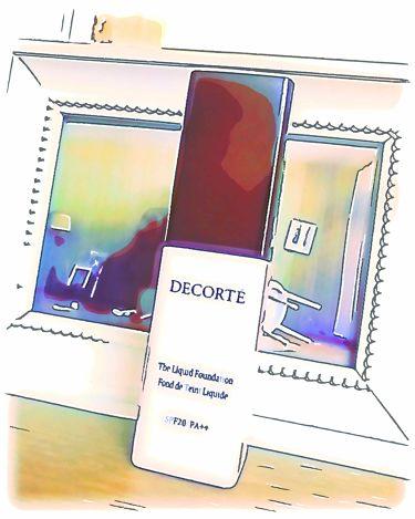 ザ リキッドファンデーション/COSME  DECORTE/リキッドファンデーションを使ったクチコミ(1枚目)