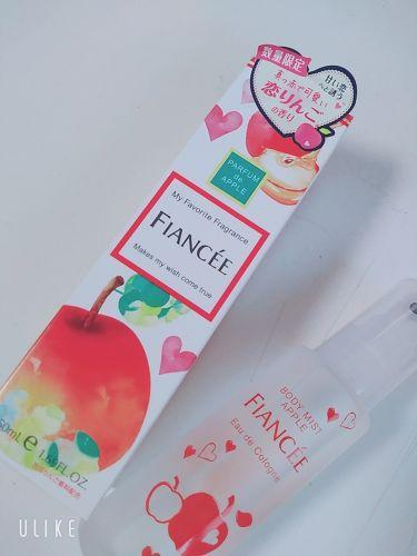 【画像付きクチコミ】フィアンセの香水·ボディシートを使ってみた!〜恋りんごの香り〜私が使った中で1番好きな香りです!ほんのり香っていい匂いするけど自然です!学校に付けて行っても全然大丈夫です!〜ピュアシャンプーの香り〜誰かお風呂入った?ってくらいの自然な...