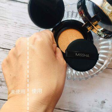 M クッションファンデーション(ネオカバー)/MISSHA/クッションファンデーションを使ったクチコミ(3枚目)
