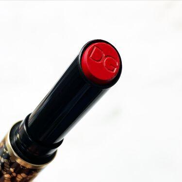 パッションリップ クリームトゥパウダー マットリップペン/DOLCE&GABBANA BEAUTY/口紅を使ったクチコミ(2枚目)