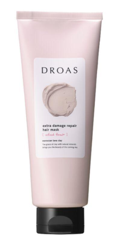 2021/3/1発売 DROAS クレイヘアマスク エクストラダメージリペア