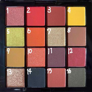 UT シャドウパレット/NYX Professional Makeup/パウダーアイシャドウを使ったクチコミ(3枚目)