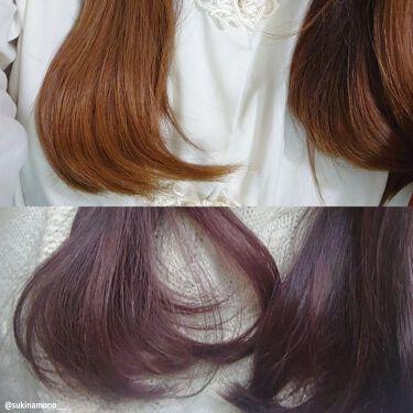 【画像付きクチコミ】#PR_花王LIPSを通して花王さんから☑️Liese泡カラークールピンク☑️Liese熱を味方にするオイルを提供していただきました✨●泡カラークールピンク泡タイプのヘアカラーはムラが出来づらく、使いやすい!髪質細め/柔らかめ/少なめ...