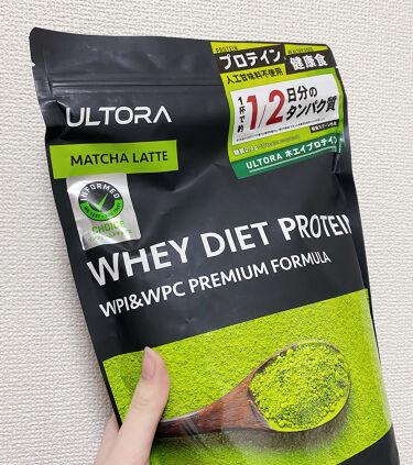 ULTRA WHEY DIET PROTEIN/ULTRA/ボディサプリメントを使ったクチコミ(1枚目)
