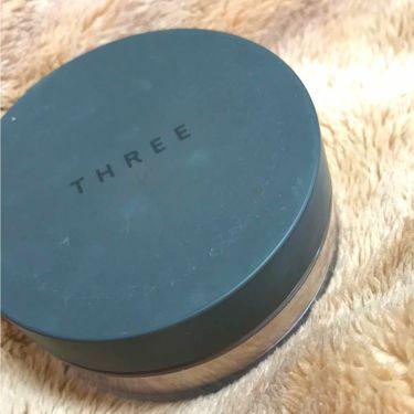 アルティメイトダイアフェネス ルースパウダー/THREE/ルースパウダーを使ったクチコミ(1枚目)