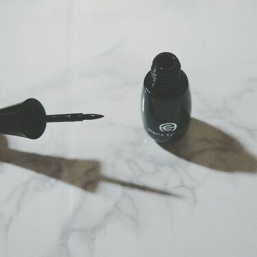 ACリキッドアイライナー/キャンドゥ/リキッドアイライナーを使ったクチコミ(2枚目)