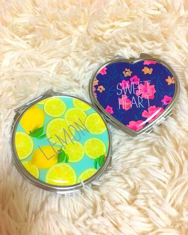 バラの花 両面コンパクトミラー/DAISO/その他化粧小物を使ったクチコミ(2枚目)