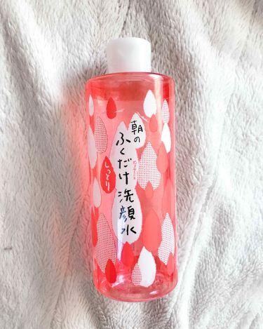 朝のふくだけ洗顔水 しっとりタイプ/ラクイック/化粧水を使ったクチコミ(1枚目)