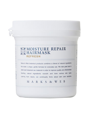2021/4/26発売 MARKS&WEB モイスチャーリペアヘアマスク