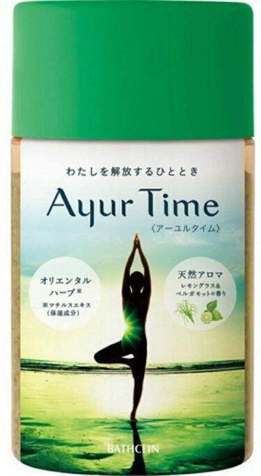 Ayur Time(アーユルタイム) レモングラス&ベルガモットの香り 720g