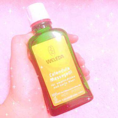 sakura 🌸さんの「ヴェレダカレンドラ マッサージオイル<ボディマッサージ>」を含むクチコミ