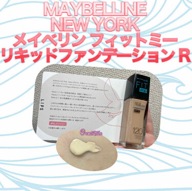 【新発売】メイベリン フィットミー リキッドファンデーション R/MAYBELLINE NEW YORK/リキッドファンデーションを使ったクチコミ(1枚目)