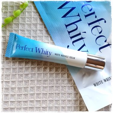 Perfect Whity WHITE WRINKLE CREAM/RBP/フェイスクリームを使ったクチコミ(2枚目)