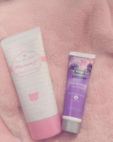 ハンドクリーム ワイルドローズの香り/クナイプ/ハンドクリーム・ケアを使ったクチコミ(1枚目)