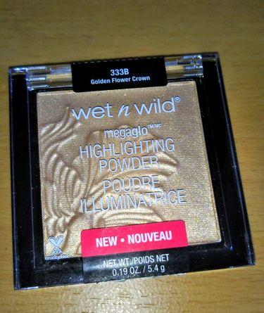 mintchipさんの「wet 'n' wildMegaGlo Highlighting Powder<プレストパウダー>」を含むクチコミ