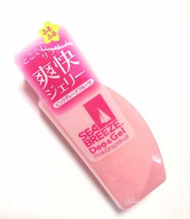 デオ&ジェル B(ピンクグレープフルーツ)/シーブリーズ/デオドラント・制汗剤を使ったクチコミ(1枚目)