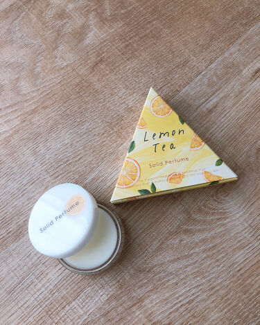 生活の木ソリッドフレグランス-練り香水-/生活の木/香水(レディース)を使ったクチコミ(1枚目)