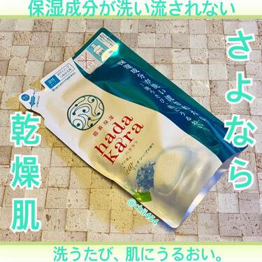 hadakara ボディソープ リッチソープの香り/hadakara/ボディソープを使ったクチコミ(1枚目)