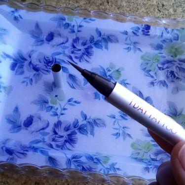 1DAY TATOO プロキャスト ザ・アイライナー/K-Palette/リキッドアイライナーを使ったクチコミ(3枚目)