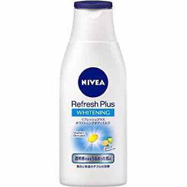 リフレッシュプラス ホワイトニング ボディミルク/ニベア/ボディミルクを使ったクチコミ(4枚目)