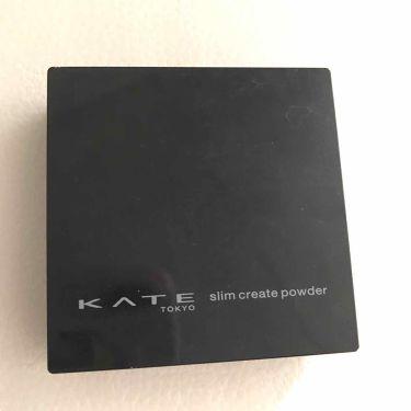 スリムクリエイトパウダー/KATE/プレストパウダーを使ったクチコミ(2枚目)