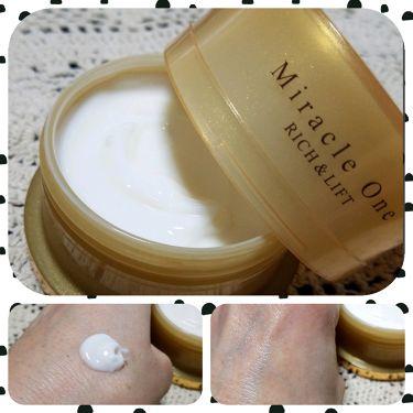 ミラクルワン リッチ&リフト/RF28/オールインワン化粧品を使ったクチコミ(1枚目)