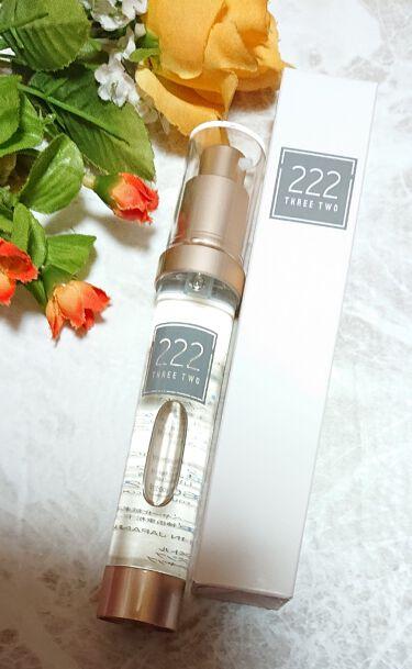 222(スリーツー)リズムメイクセラム/222/ブースター・導入液を使ったクチコミ(1枚目)