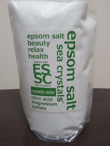 Epsom Salt Sea Crystals (エプソムソルト シークリスタルス)/Epsom Salt (エプソムソルト)/入浴剤を使ったクチコミ(1枚目)