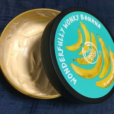 ボディバター バナナ/THE BODY SHOP/ボディクリーム・オイルを使ったクチコミ(1枚目)