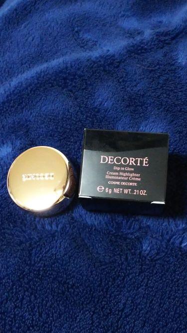 ディップイン グロウ/COSME  DECORTE/ジェル・クリームチークを使ったクチコミ(1枚目)