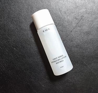 ファーストセンス ハイドレーティングローション リファインド/RMK/化粧水を使ったクチコミ(1枚目)