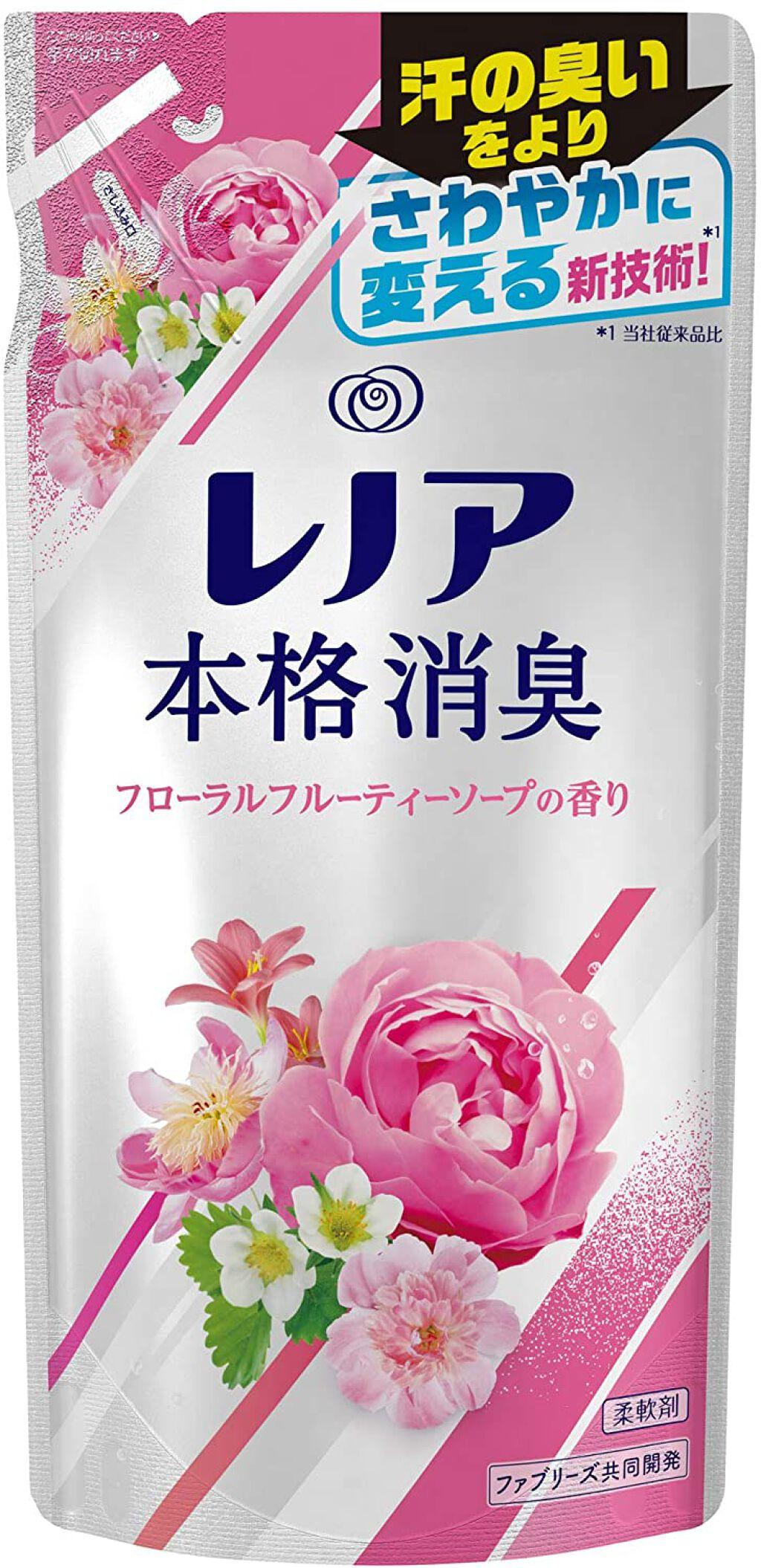 レノア本格消臭 フローラルフルーティーソープの香り 420ml