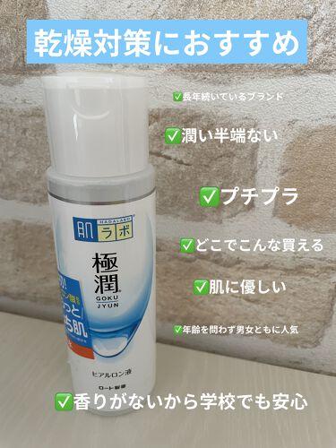 極潤ヒアルロン液(ハダラボモイスト化粧水d)/肌ラボ/化粧水を使ったクチコミ(1枚目)