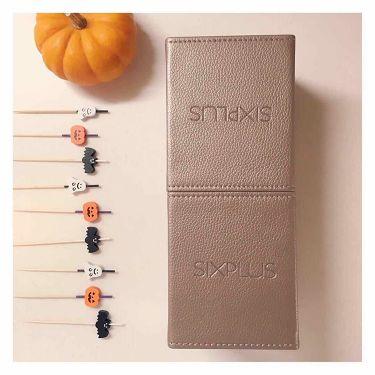 SIXPLUS 限定版 魅力のコーヒー色メイクブラシ15本セット/SIXPLUS/メイクブラシを使ったクチコミ(3枚目)