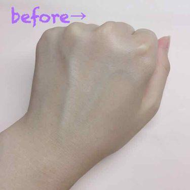 トーンアップクリーム ミルクホワイト/モウシロ/化粧下地を使ったクチコミ(3枚目)