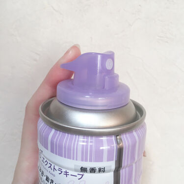 ケープ 3Dエクストラキープ 無香料/ケープ/ヘアスプレー・ヘアミストを使ったクチコミ(5枚目)