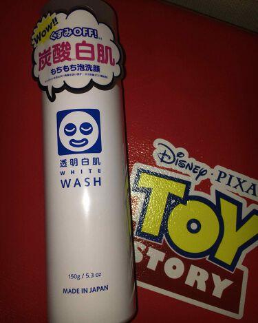 みうさんの「透明白肌(トウメイシロハダ)ホワイトウォッシュN<洗顔フォーム>」を含むクチコミ