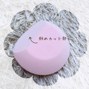 【画像付きクチコミ】ROSY ROSA(ロージーローザー)スムースフィットスポンジロージーローザーのスポンジは大好きでいろんな形のを使ってきましたが、このスポンジは初めましてです!!!とても柔らかくてとにかく持ちやすい!!!!!!!!!楕円型ではなく一部...
