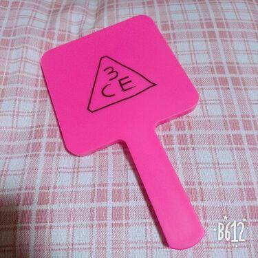 MINI HAND MIRROR/3CE/その他化粧小物を使ったクチコミ(1枚目)