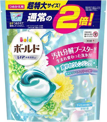 ボールドジェルボール3D 爽やかプレミアムクリーンの香り つめかえ用 超特大