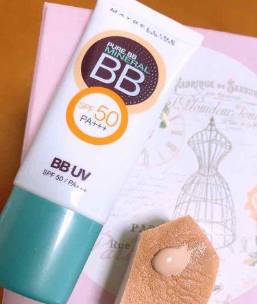 ピュアミネラル BB クリーム UV/MAYBELLINE NEW YORK/化粧下地を使ったクチコミ(1枚目)